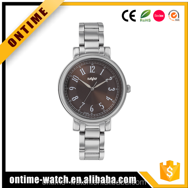 LADY alloy case water resistant watch gift watch china suppiler jewelry watches