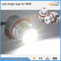 China supplier car LED auto light bulbs led angel eyes light for BMW car head lamp 40W 7000K super bright E39 led marker