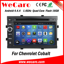 "Wecaro WC-WC7049 7"" Android 4.4.4 car dvd player in dash 7 inch touch screen for chevrolet cobalt android mirror link"