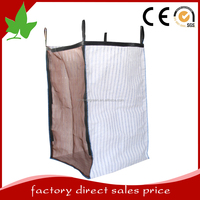 bulk bags for packing firewood, onions and vegetable 2 side mesh 2 side vented fabric