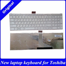 Factory direct wholesale US layout keyboard for TOSHIBA L50 L50-A S50 C50 C50D C50-A C55D