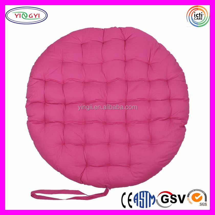 E905 Papasan Round Chair Seat Cushion Pillow Maximum Comfort Big Round Chairs with Cushion