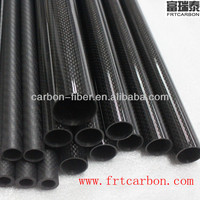 25mm,16mm,12mm,14mm,22mm,20mm,30mm Carbon Fiber pipe tube 500mm Long for RC plane spare parts accessory/ MultiCopter Kits DJI