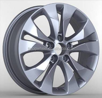 17 inch after market mag wheel fit for crv silver new treatment car rims automobile wheels