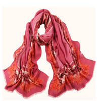 china factory cheap fashionable polyester voile printed long scarf and shawl,voile women pashmina shawls arab hijab scarf