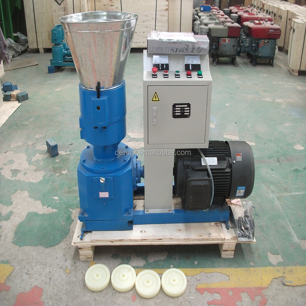 New Mini Model Wood Pelleting Machine and Biomass Wood Pellet Mill