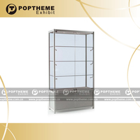 Hot Multi-fonction glass aluminium display cabinet for retail/wholesale shop