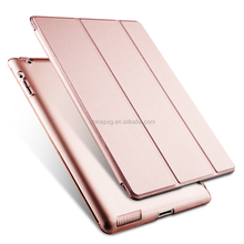 Ultra Slim Smart Pu Leather Case for iPad, Flip Cover Case for iPad 234 Rose Gold