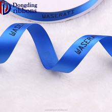 "China manufacturer high color strength satin ribbons imported 1"" silk-screen printing polyester ribbon"