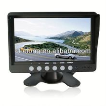"7"" Heavy-duty Digitalcar monitor headrest"