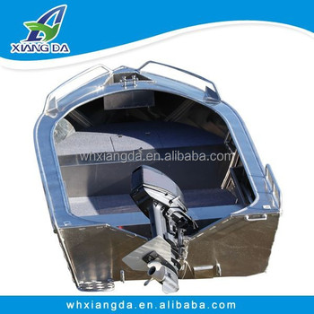 Luxury Welded Aluminum boat for cheap sale