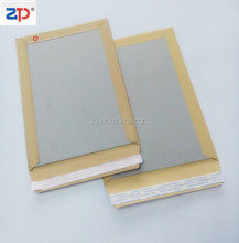 hot melt glue Hard Back Envelopes for photo pack