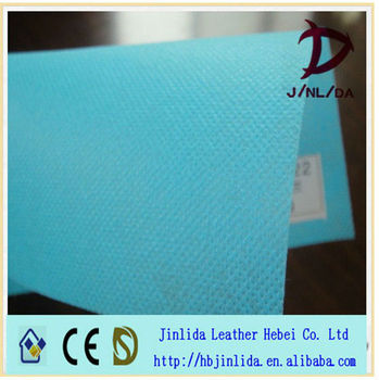 spun-bonded green breathable pp non woven laminate fabric for handbags