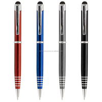 New luxury gift promotion metal ball pens with custom logo advertising ballpoint pen personalized metal pens promotional