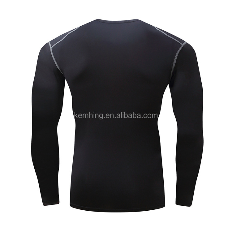 wholesale custom private label fitness wear fast dry Fit mens gym fitness shirt