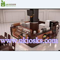 Biscuit display of retail cold food kiosk customize for shopping mall