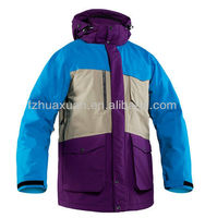 promotion hot selling light padding big size winter active ski clothing