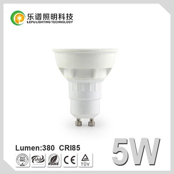 China Lighting Manufacturer Wholesaler Cheap GU10 MR16 Energy Saving Recessed for Room Dimmable COB Epistar 5W LED Bulb Light