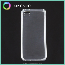 Top quality Soft Clear silicon cover for iPhone 5s case, case covers for i5s
