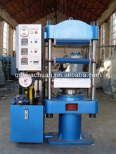 Rubber Product Making Machinery / Car Floor Mat Hydraulic Vulcanizing Press / Rubber Plate Vulcanizer