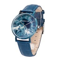 chinese providers hot selling super thin case metal with ceramic/marble mens watches made in china