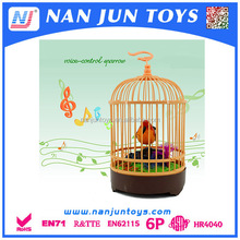 Wholesale recording bird with cage for kids
