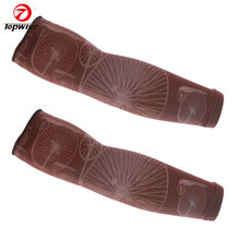 Arm Compression Sleeves Athletic Arm Sleeves Perfect for Lymphedema, Basketball, Baseball, Running & Outdoor Activity