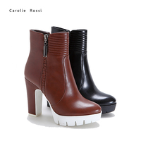 New elegant trendy products images sexy winter ankle boots
