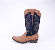 Custom Made Mexican Cowboy Western Mid Shaft Horse Riding Boots for women