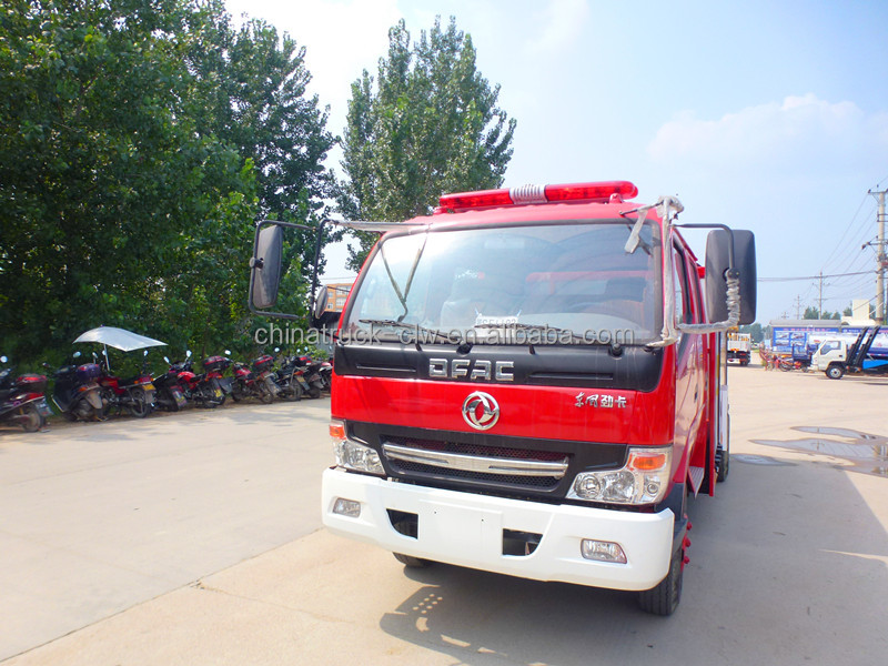 Dongfeng water fire pumper truck with 35000 liters water tank