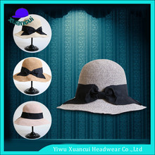 2017 New Natural Sun Straw Hats ladies beach hats to decorate Summer Beach Hats