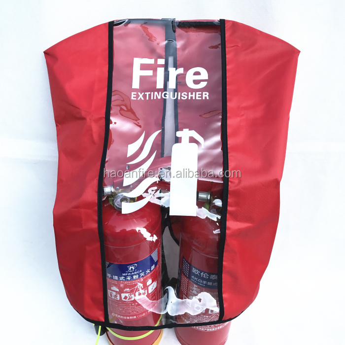 Waterproof and anti-dust insulation for fire extinguisher cover