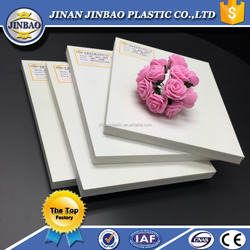 Advertising material cheap 4x8 printed pvc foam sheet