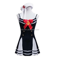 Hot sale school sexy uniforms sexy fancy dress for school girls