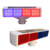cheap price traffic warning light/Red blue solar flashing lights