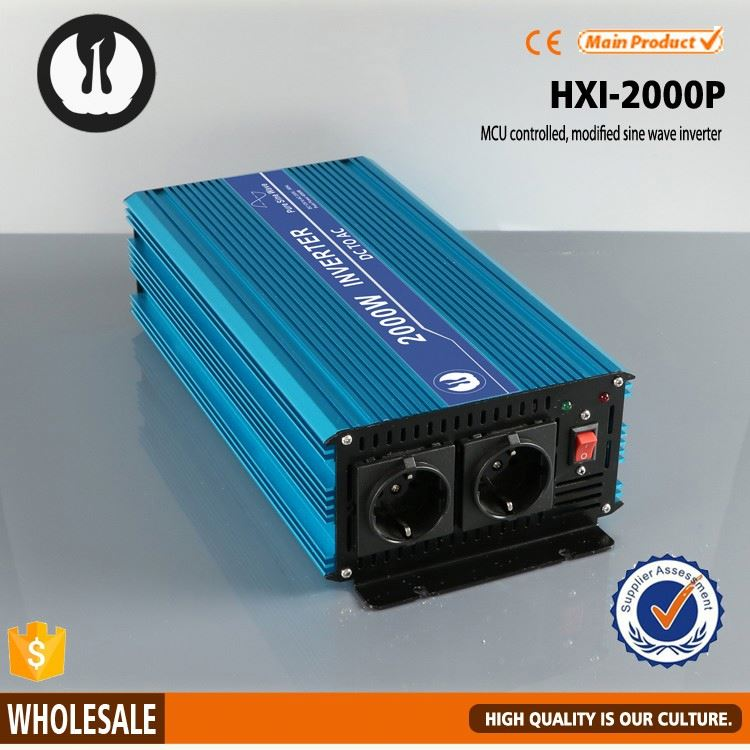 2000W pure sine wave european power automobile power voltage converter 12 and 220,inversor/invertor/inversor