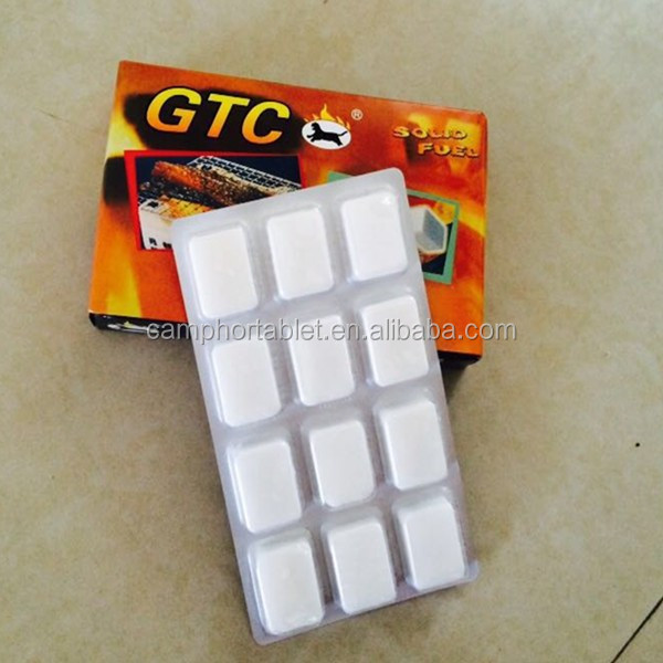 Hexamine Solid Fuel/Lighting Cubes Tablets