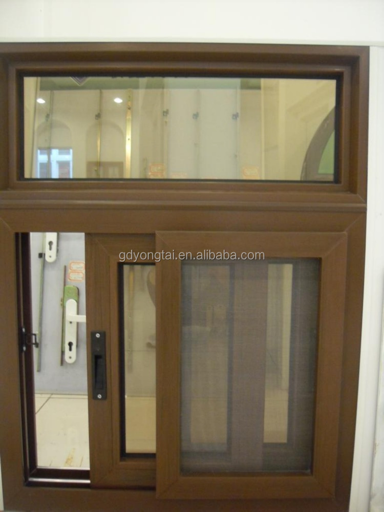 Factory pvc window with fly screen protect windows for Africa