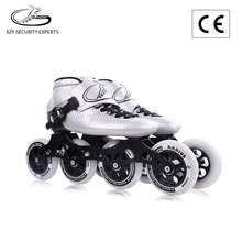 Imported microfiber upper 100KG max load professional inline speed skate