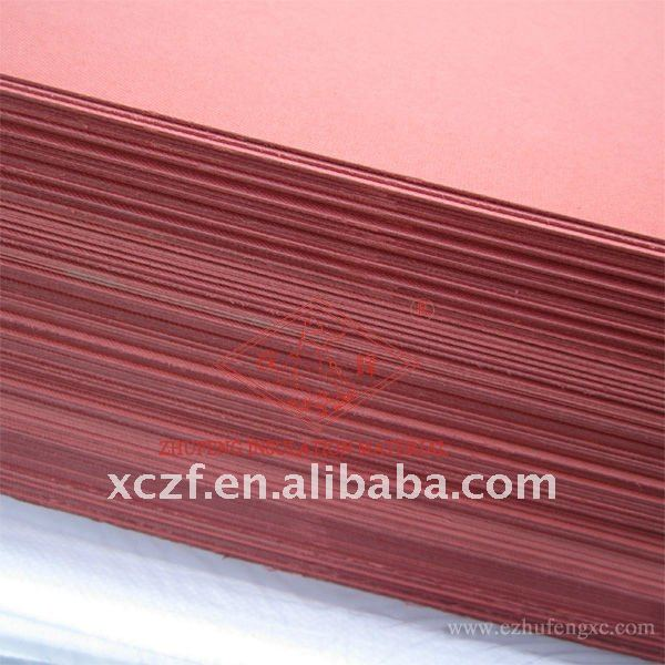 red color electrical insulation pressboard