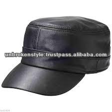 Leather Cap/Fashion Leather Cap/Motorcycle cap