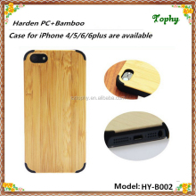 Custom for iphone 5s bamboo case, bamboo for iphone 6 plus case,OEM mobile phone cases for iphone 5s 6 plus