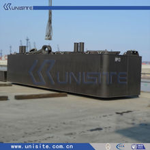 catamaran steel float pontoon for dredging(USA007)