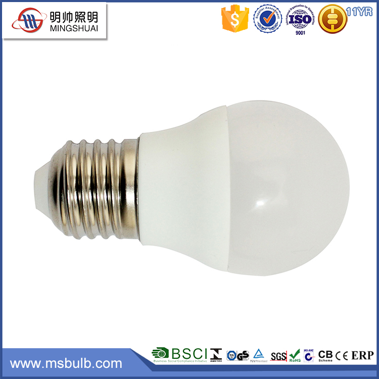Energy Saving Hot Saled LVD E27 4W G45 LED Light Bulb