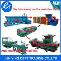 tunnel kiln vacuum clay brick making machine production line/box feeder/belt conveyor