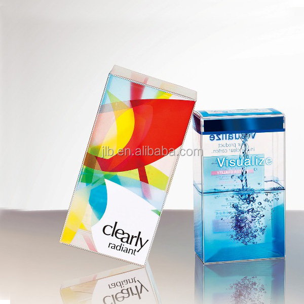 Plastic New Printing Transparent PVC Box Packaging for skin care