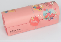 Custom wedding gift roll cake paper box