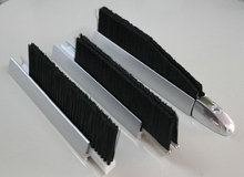 escalator deflector safety skirt brush
