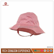 factory hand made bucket cap with velcro for wholesale