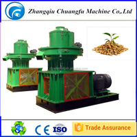 Vertical feeder pellet machine dual-layer ring die